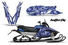 YAMAHA APEX GRAPHIC KIT AMR RACING SNOWMOBILE SLED WRAP DECAL 12-13 BUTTERFLY BL