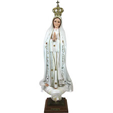 20 Inch Our Lady Of Fatima Statue Religious Statues Virgin Mary #1035
