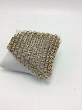 $50 Kenneth Cole gold tone chain bracelet 722B