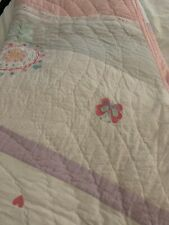 pottery barn kids quilt queen and sham