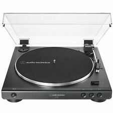 Audio-Technica Black AT-LP60X Fully Automatic Belt-Drive Turntable 33-1/3 & 45