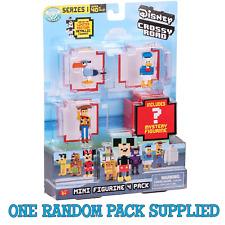 1 RANDOM Disney Crossy Roads Series 1 Mini Figurine 4 Pack (Inc 1 hidden)