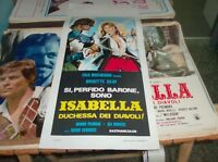 Isabella Duchess Of Devils: Original 1973 Bruno Corbucci