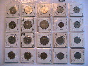 1928-1999 Norway 50 Ore - 10 Kr. Lot Fine+ - Ch BU Norge Norwegian Lot 20 Coins