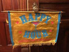 Vintage Southern Comfort Promo Happy Hour Flag Banner Sign Liquor Bar Decor