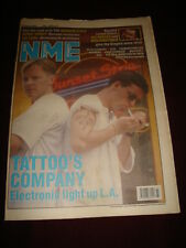 NME 1990 AUG 18 ELECTRONIC WONDER STUFF VIC REEVES TEENAGE FANCLUB ANTHRAX GTO