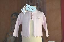 veste tartine et chocolat 3 mois neuve rose pale petit noeud sur le cote perle