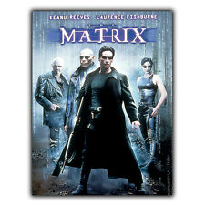 THE MATRIX 1999 Movie METAL SIGN WALL PLAQUE Film Advert Poster Print Man Cave