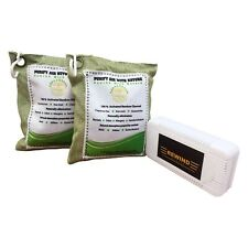 bamboo charcoal air purifying bag 2 Pcs Free Refrigerator Case