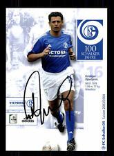 Kristijan djordjevic autografiada mapa FC shalke 04 2003-04 original sign + a 132728