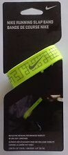 Nike Running Slap Band 2.0 Color Volt/Silver Size OSFM New