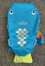 Trunki Paddlepak Blue Waterproof Swim Or Gym Bag