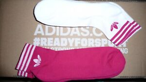 New 2020  Pack UNISEX Genuine Adidas Sports Low Cut Trainer Socks  Size -8-11