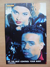 2 UNLIMITED - Let The Beat Control Your Body - Lyric Card