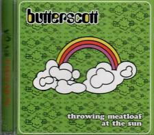 BUTTERSCOTT - THROWING MEATLOAF AT THE SUN BOSTON DIY TWISTED LYRIC POP SLD CD