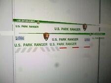 National Park Service  Park Ranger Vehicle Decals 1:24