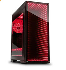 PC Gehäuse-Inter Tech M-908 Gaming Tower mit dem Infinity-Mirror-3x RGB Lüfter
