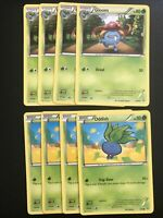 4 Oddish 4 Gloom 1/98 2/98 Playset Ancient Origins Pokemon Card TCG MINT