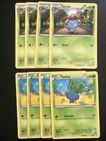 4 Oddish 4 Gloom 1/98 2/98 Playset Ancient Origins Pokemon Card TCG MINT
