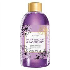 Avon Dark Orchid and raspberry bubble bath 250ml