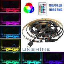 "Waterproof 5M LED Strip Light RGB ""5050"" SMD Light Tape Full Kit Indoor Outdoor"
