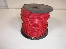 CAROL 76512.18.03 Hookup Wire, 16 AWG, 8 Amps, Red, 500 ft.(P)