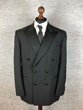 Marks And Spencer Mens Blazer Size 42R Uk   52R Eur Black Wool