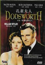 Dodsworth DVD Walter Huston Paul Lukas Mary Astor NEW 1936 B&W R0