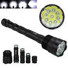 40000LM 24x XML T6 LED Flashlight 5 Modes Torch 26650/18650 Camping Lamp Light