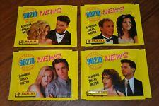 Panini Beverly Hills 90210 News: 4 unopened pack. 4 different design .Rare