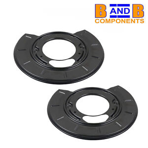 MERCEDES REAR DISC BRAKE PROTECTION BACK PLATES PAIR VITO 638 A1728
