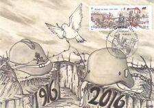 Carte FDC Centenaire de la bataille de Verdun 29.05.2016