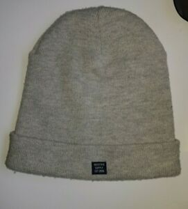 INDUSTRIE: The Shiloh Beanie - GREY Charcoal Marle GREAT CONDITION