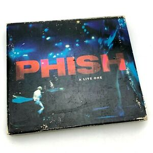 Phish - A Live One | 2 CD Live Performance | 1995 Elektra | with Booklet