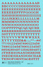 K4 O Decals Red 1/4 Inch Railroad Roman Letter Number Alphabet Set