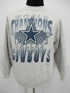 P8628 VTG 90's Men's Dallas Cowboys 1993 NFL-Football Pullover Sweatshirt