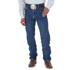 WRANGLER George Strait Original Fit Cowboy Cut Denim Jeans 13MGSHD Men's 33x34