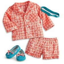 American Girl Doll Tenney's Pajamas PJs Outfit NEW!! Tenney