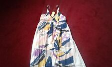 LADIES TIERED MAXI DRESS, SIZE 14, BACK SMOCKING , NEW WITH TAGS