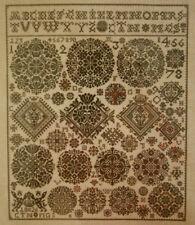 NEW CROSS STITCH KIT VIERLANDE 1826 SAMPLER PERMIN OF COPENHAGEN 39-4410