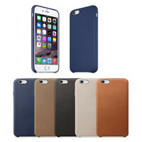Luxury Soft PU Leather Ultra-thin Slim Back Case Cover Protector Skin For iPhone