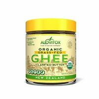 Alovitox Organic Grass-Fed Ghee From New Zealand 8.4 Oz