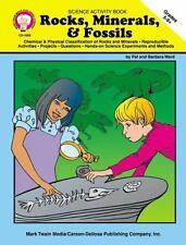 Rocks, Minerals,& Fossils Gr 5-8+ NEW Mark Twain Media Home School