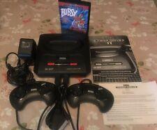 Sega Mega Drive II Regio Mod + IGR and Bubsy game