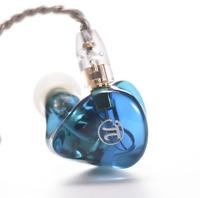 Dynamic In-ear Monitor HiFi Earphone Music Audiophile IEMs In Fashion Sapphire