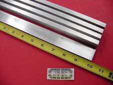 "5 Pieces 3/8"" X 1"" ALUMINUM 6061 FLAT BAR 10"" long .375"" Solid New Mill Stock"