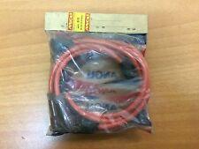 MINI MORRIS JUEGO CABLES DE BUJIAS ROJOS spark plug wires NEW OLD STOCK