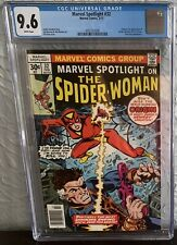 MARVEL SPOTLIGHT #32 CGC 9.6 WHITE PAGES ORIGIN & 1ST APPEARANCE OF SPIDER-WOMAN
