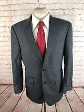 Jos. A. Bank Men's Gray Solid Wool Suit 42R 32X29 $695