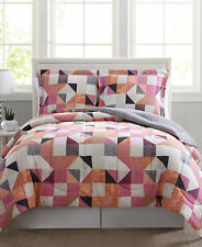 Pem America Bedding Casey Reversible Twin Comforter and Standard Sham Set G161